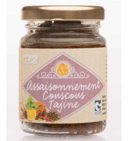 Assaisonnement Couscous-Tajines bio