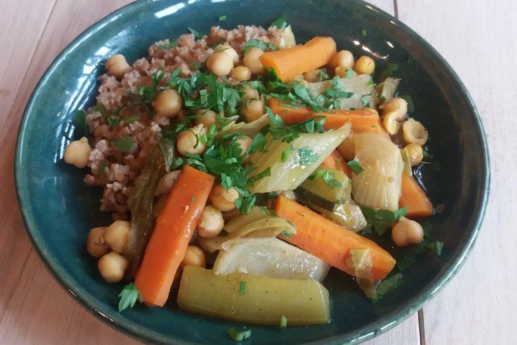 Couscous de légumes